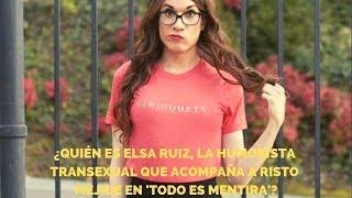 ¿Quién es Elsa Ruiz, la humorista transexual que acompaña a Risto Mejide en 'Todo es mentira'?