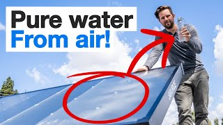Off-Grid Water With Air and Sunlight