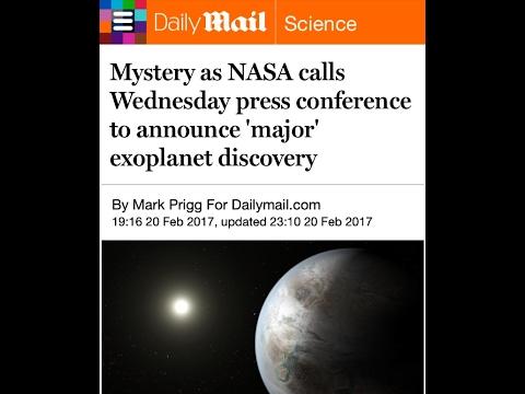 ALERT! NASA Huge Press Conference Tomorrow!...