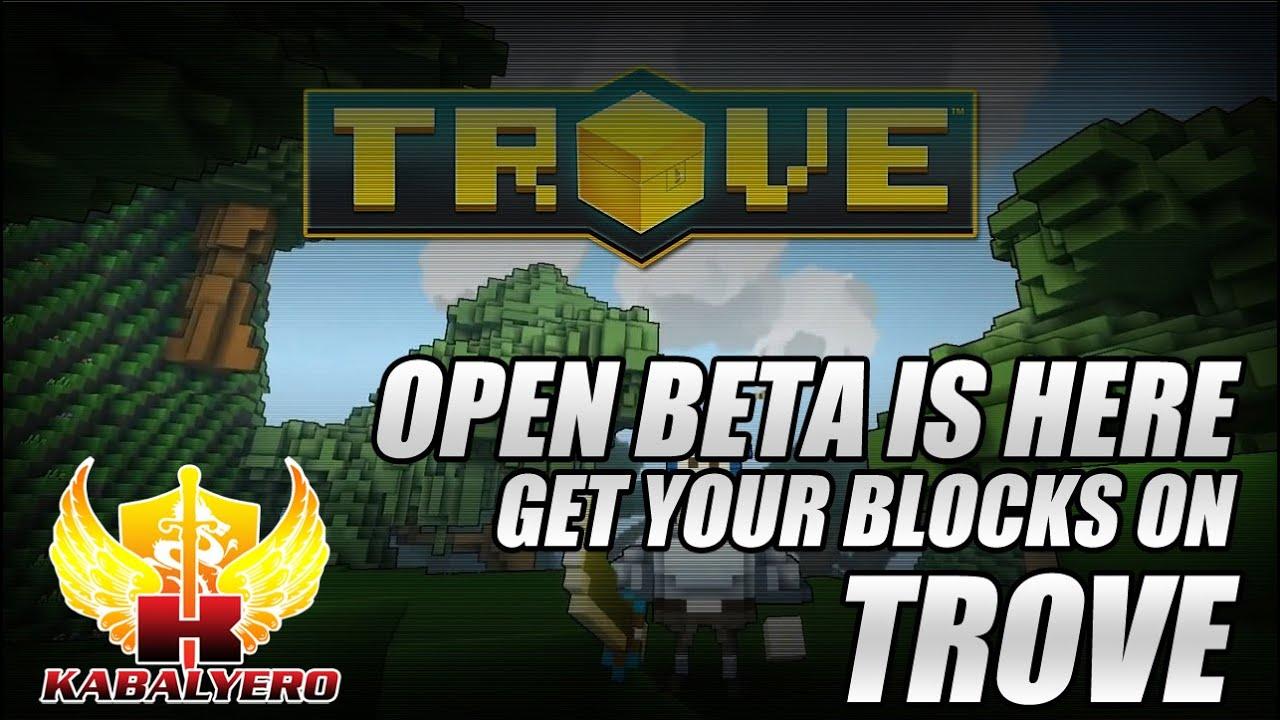 Trove Open Beta Is Here