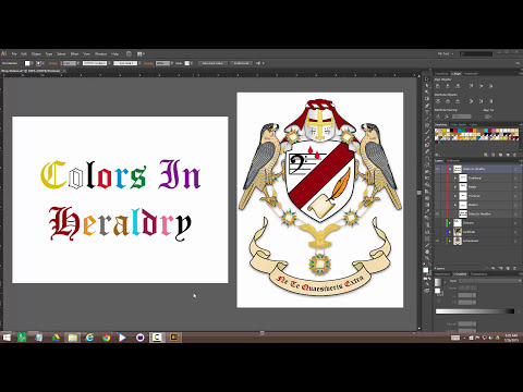 Colors In Heraldry