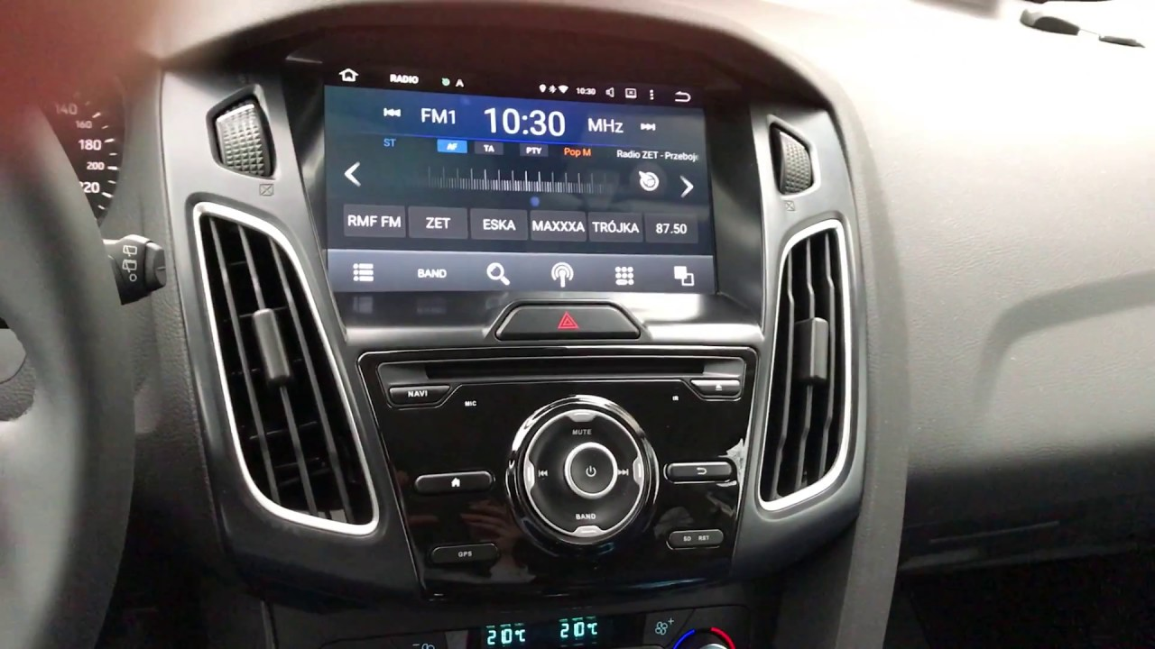 Radio 9 Quot Android 5 1 Ford Focus Mk3 Fl 2016 Youtube