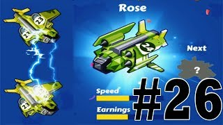 Merge Plane-Click & Idle Tycoon #lv26 #Rose_No_hack iOS/Android Games/GamePlay_HD