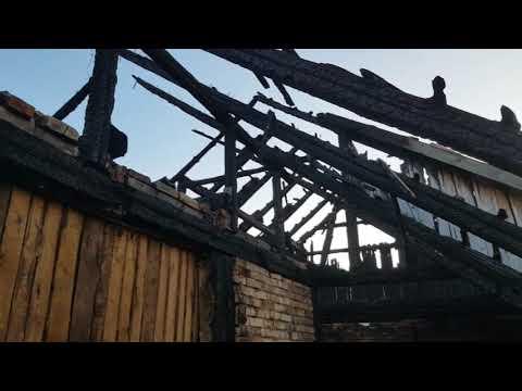 Spłonął dom w Gościszowie