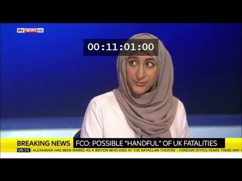 Sky News, Paper review post Paris Attacks Nov 2015