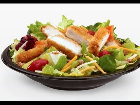 Mcdonalds Premium Bacon Ranch Salad With Crispy Chicken