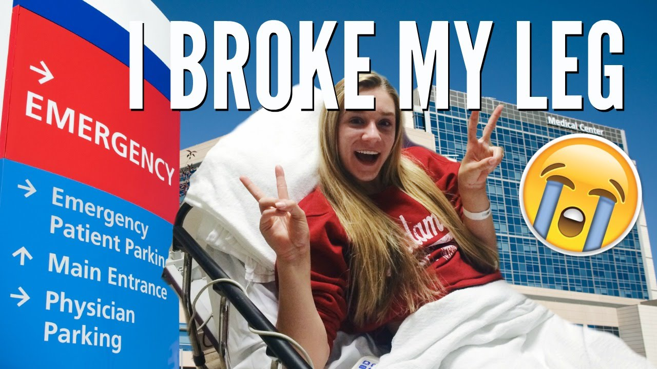 I Broke My Leg Youtube