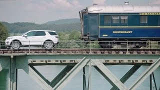 Land Rover Discovery Sport pulls 100-Tons Train