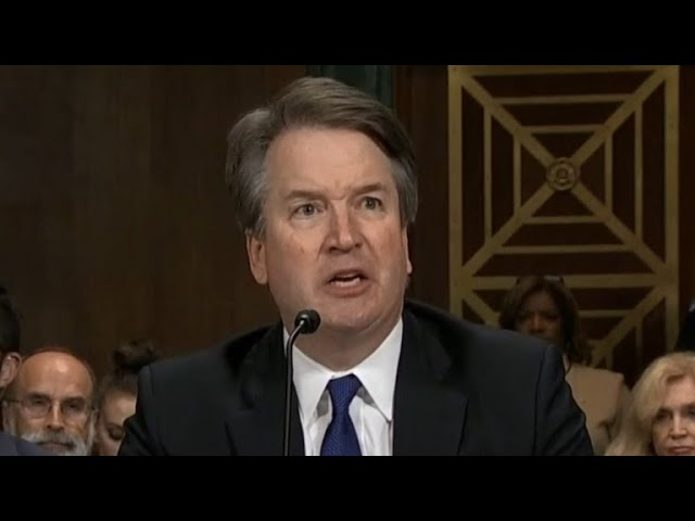 "Brett Kavanaugh: ""My family and my name have been totally and permanently destroyed"""
