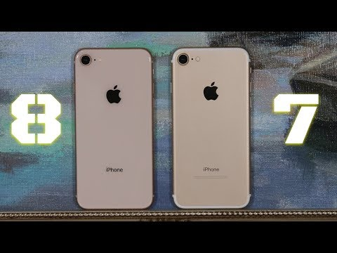 iPhone 8 vs iPhone 7: Full Comparison