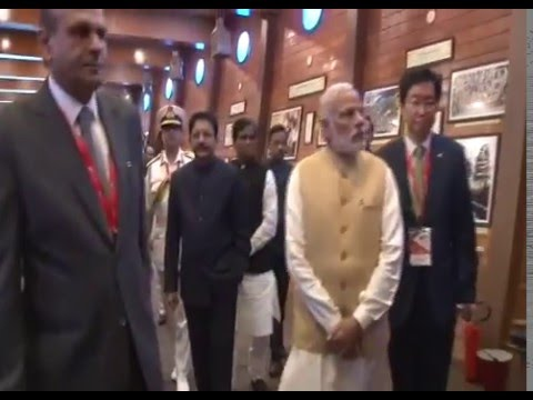 PM Narendra Modi inaugurates Maritime India Summit 2016