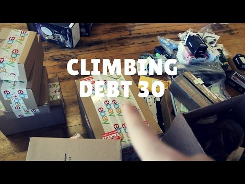 First $1300 Sale on Ebay and More Arbitrage | Climbing Debt 30