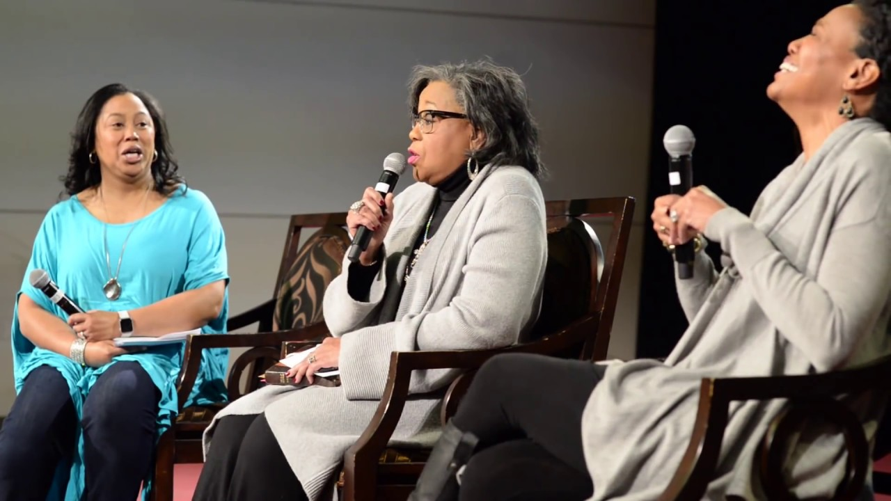 Legacy Panel with Lois Evans, Chrystal Hurst and Priscilla Shirer #1
