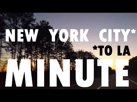 A New York (to Los Angeles) Minute [Travel Shorts]