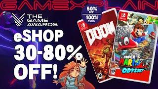 Nintendo Celebrates The Game Awards w/ BIG eShop Deals (30% Off Mario Odyssey, 50% Doom & More!)