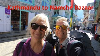 Nepal Trip Episode One. Kathmandu to Namche Bazaar - Will we need a guide or porter?