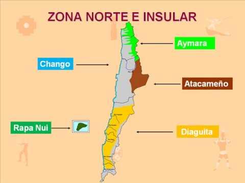 Ubicación De Los Pueblos Originarios De Chile (mapuche, Aymara, Atacameño, Diaguita, Selk´nam, Yagan, Aonikenk, Rapa Nui, Chango, Etc) Educacion Arica Chile Felix Milanes Yopendragon