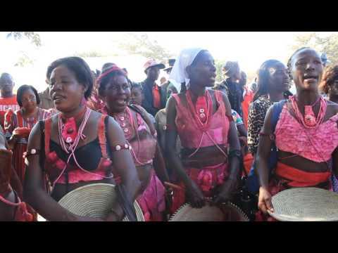 Ruacana Cultural Festival performing at Oshisiliveli