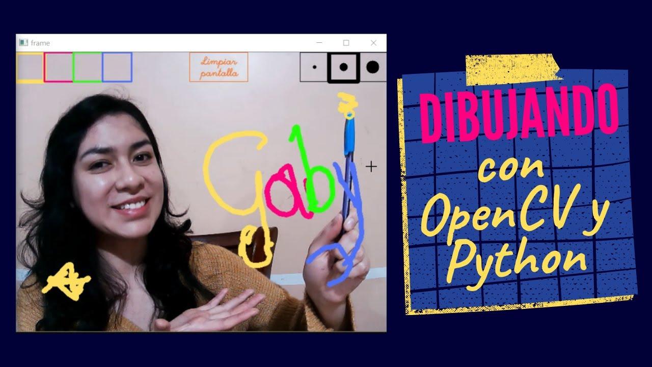 🖊️ Marcador o Lápiz virtual   OpenCV - Python