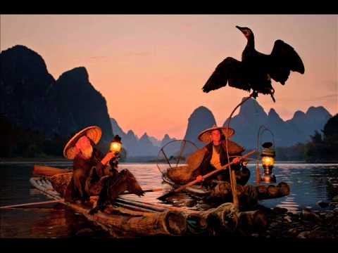 The fisherman's song at dusk - Hong Ting