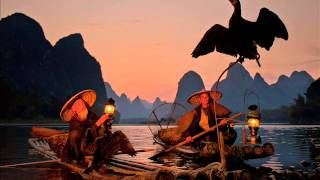 The fisherman 39 s song at dusk Hong Ting
