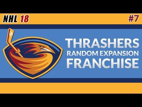 NHL 18 - Atlanta Thrashers Expansion Franchise #7