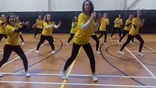 Vítězky soutěže Tancem proti násilí // One Billion Rising Prague