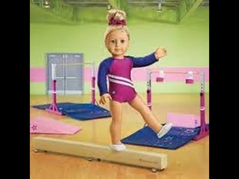 American Girl Gymnastic Set Review Competition All