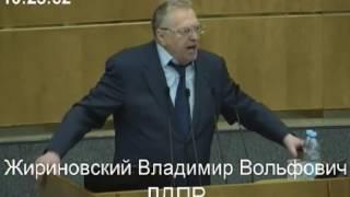 """""""Расстреливать и вешать!"""" Жириновский устроил скандал в Госдуме"""