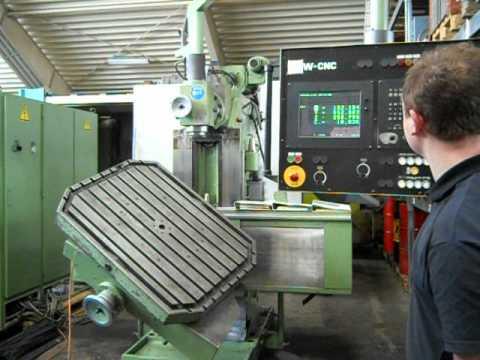Shw Uf 41 Werkzeugfr 228 Smaschine Youtube