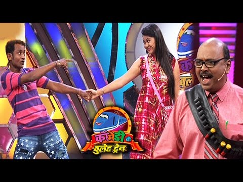 Comedy Chi Bullet Train Performances   Uday Sabnis As Guest   Colors Marathi
