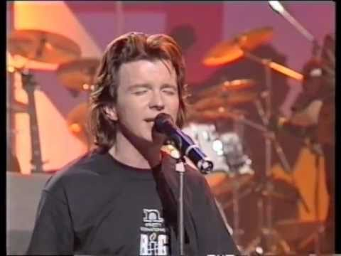 Rick Astley - Cry For help (Live on TV HQ)
