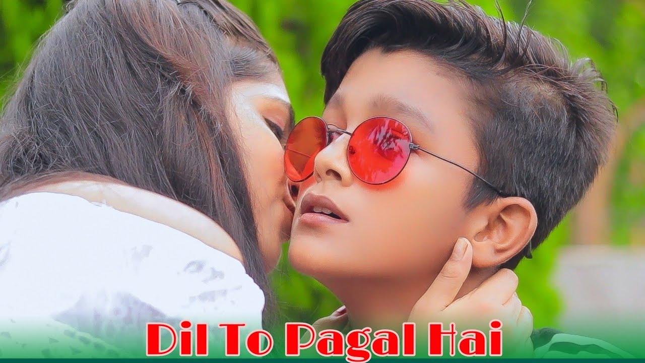 Dil To Pagal Hai | Funny Love Story | Shahrukh Khan | Latest Hindi Remix Song 2021 | Sweet Heart