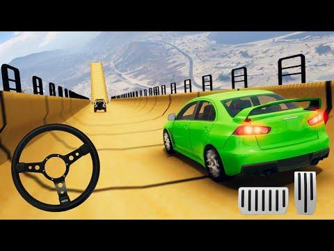 Juegos De Carros Para Niños - Extreme Car Stunt Games - Mega Ramp Car Driving 3D