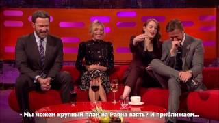 Райан Гослинг и Эмма Стоун -  неловкие родители [Русские субтитры]