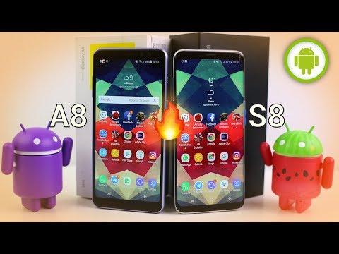 Samsung Galaxy A8 (2018) vs Galaxy S8: quale scegliere?   CONFRONTO