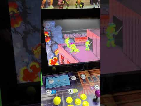arcade1up tmnt cabinet 12000 games from J M Arcades