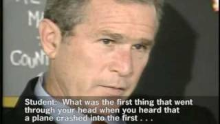 Evidence that George W. Bush had advanced knowledge of 9-11