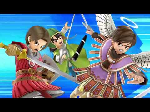 Dragon Quest Heroes Revealed in Super Smash Bros. Ultimate! - E3 Trailer