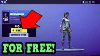 HOW TO GET ARCTIC ASSASSIN SKIN FOR FREE! (Fortnite Old Skins)
