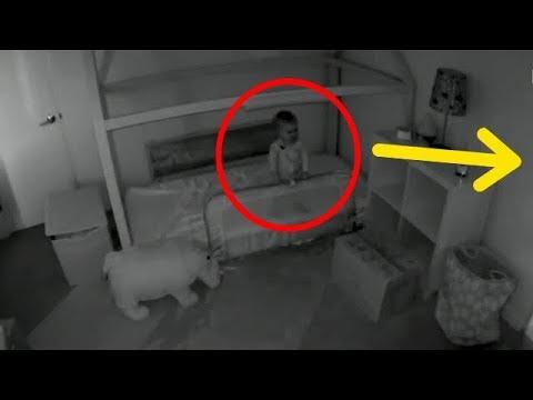 Малыш каждую ночь пропадал из комнаты! Установив камеру, мать не поверила своим глазам!