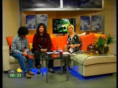 TV5 ~Serbia National TV ~Morning show  18/11/2011