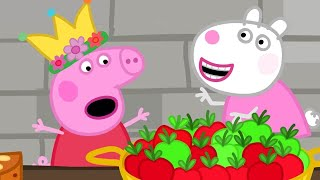 Peppa Pig English Episodes | Peppa Pig Visits The Castle | Peppa Pig Official