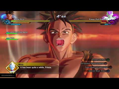 SSGSS Master Eli Jr. Vs (Full Power) Frieza And Tpatrollers In DRAGON BALL XENOVERSE 2
