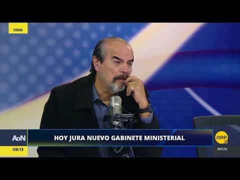 """Mauricio Mulder: """"Fue error de Fuerza Popular apoyar una posible censura a Martens"""" │RPP"""