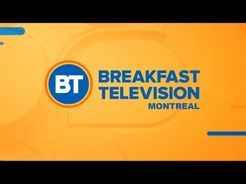 Breakfast Television Montreal Opening (January 3, 2018)