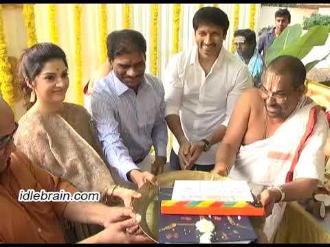 Gopichand's 25th - Sri Sathya Sai Arts new movie launch - idlebrain.com
