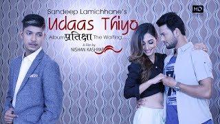 "Sandeep Lamichhane Cricketer  "" UDASH THIYO "" Official Music Video 2018 Ft. Jeevan / Shristi PopSong"