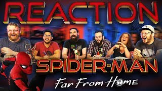 SPIDER-MAN: FAR FROM HOME - Official Trailer REACTION!!