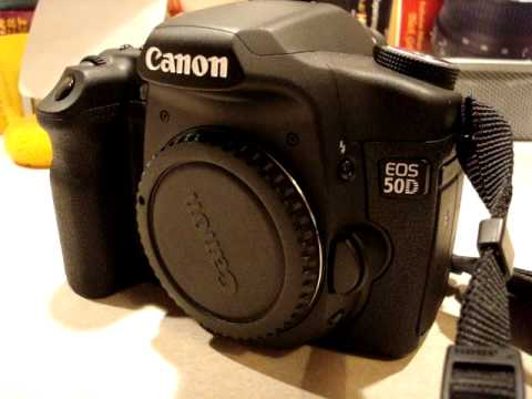 Canon EOS 50D tour and review